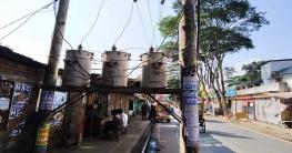 গাজীপুর মহিলা কলেজ রোডে বিপদ জনক বিদুৎ টান্সফর্মার