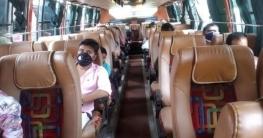 বাসায় সেবা করার কেউ না থাকায় লোকালবাসে করে গ্রামে গেলো করোনা রোগী