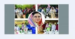 মানবিক নেত্রী গাজীপুর-৫ আসনের এমপি মেহের আফরোজ চুমকি