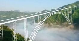 কাশ্মীরে চালু হচ্ছে বিশ্বের সবচেয়ে উঁচু রেল সেতু