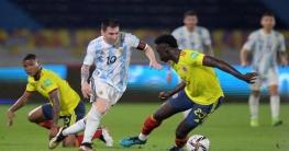 কলম্বিয়ার বিপক্ষে ২-২ গোলে ড্র করলো আর্জেন্টিনা