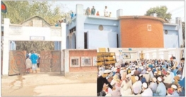 বঙ্গবন্ধুর স্মৃতি 'শেখ জামে মসজিদ'