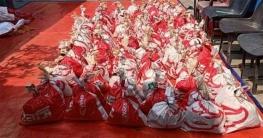 কালীগঞ্জে ১১১ পরিবারকে খাদ্য সহায়তা প্রদান