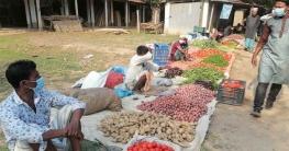 শ্রীপুরে লকডাউন থাকায় হাটের ইজারা মওকুফ
