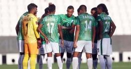 রাতে ভারতের বিপক্ষে মাঠে নামছে বাংলাদেশ ফুটবল দল