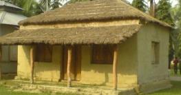 গ্রাম বাংলার হারানো ঐতিহ্য ছনের ঘর