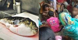 পটকা মাছ খেয়ে মা-বাবার মৃত্যু, তিন মেয়ের অবস্থা আশঙ্কাজনক