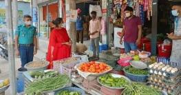 গাজীপুরে স্বাস্থ্যবিধি নিশ্চিতকরণে ভ্রাম্যমাণ আদালত পরিচালনা