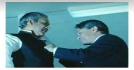 ১০ অক্টোবর ১৯৭২, বঙ্গবন্ধুকে 'জুলিও কুরি' পুরস্কারে ভূষিত করা হয়