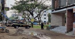 রাজধানীর বসিলায় 'জঙ্গি আস্তানায়' র্যাবের অভিযান