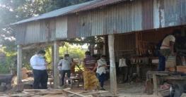 কালিয়াকৈরে ৪টি অবৈধ করাত কলকে ভ্রাম্যমাণ আদালতের জরিমানা